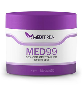 CBd isolate from medterra