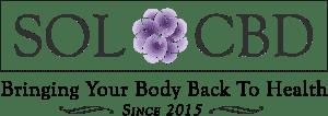 Sol cbd coupon and logo