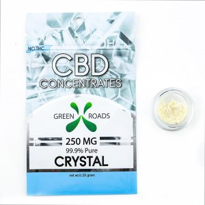 cbd isolate by greenroadsworld and the review