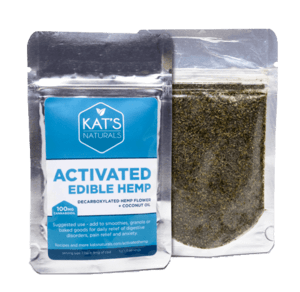 Activated hemp edible