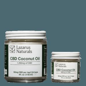 Cbd coconut oil by lazarus
