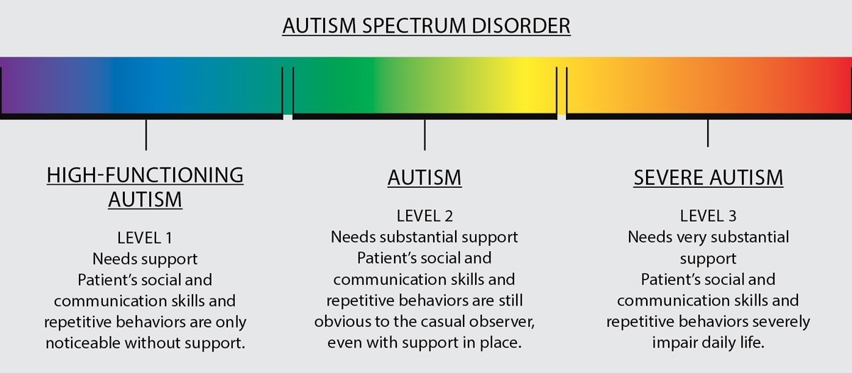 Types of stages in autism